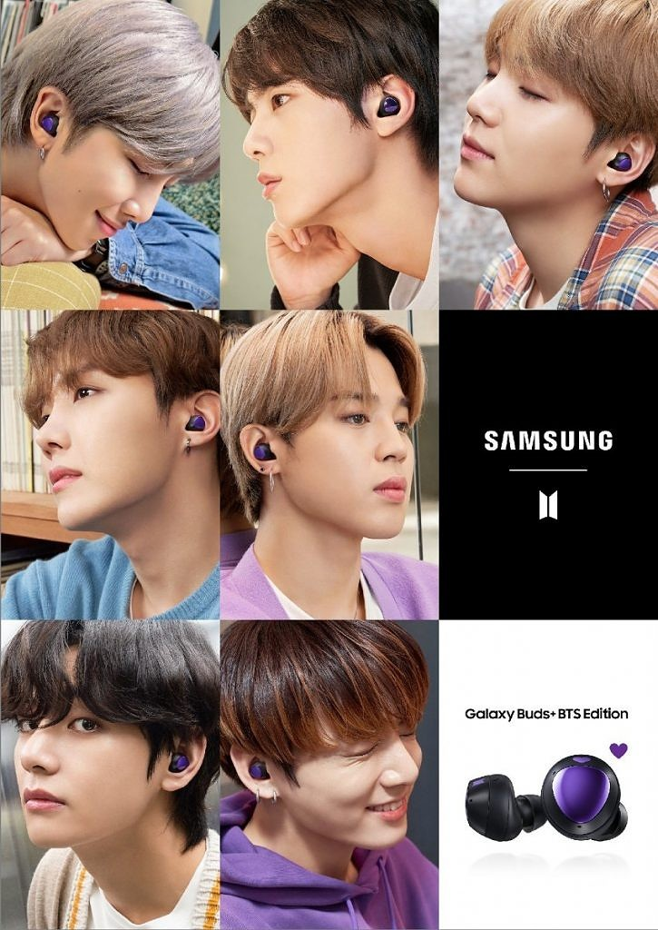 Samsung Galaxy Buds Mirror Purple BTS Edition 2