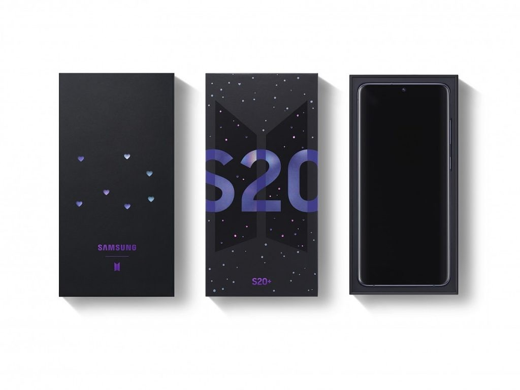 Samsung Announces A New Galaxy S20 And Galaxy Buds Themed After Korean Band Bts
