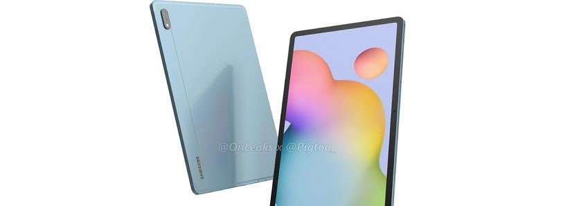 [Update: Plus Renders, 120Hz] Galaxy Tab S7 leaked renders show Samsung's answer to the Apple iPad Pro