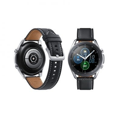 [Update 2: 45mm Titanium] Samsung Galaxy Watch 3 leaked render gives us our clearest look yet at Samsung's upcoming smartwatch