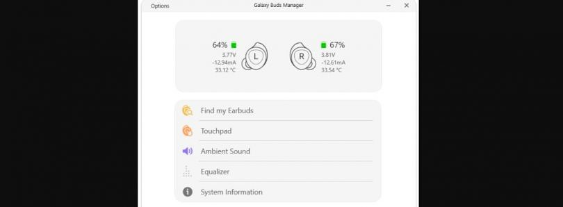 This open source Galaxy Buds client lets you manage your Buds from your Windows PC