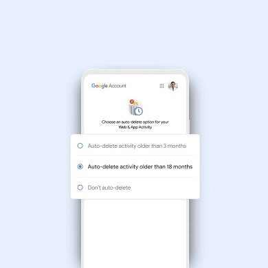 Google will now automatically delete Web & App activity, Location history, and YouTube search history for new users