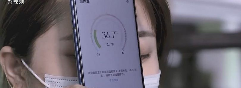 The Honor Play 4 can take your temperature with an infrared camera