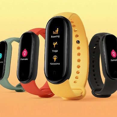 Xiaomi Mi Band 5 launches with 1.1″ color screen, NFC, and magnetic charging