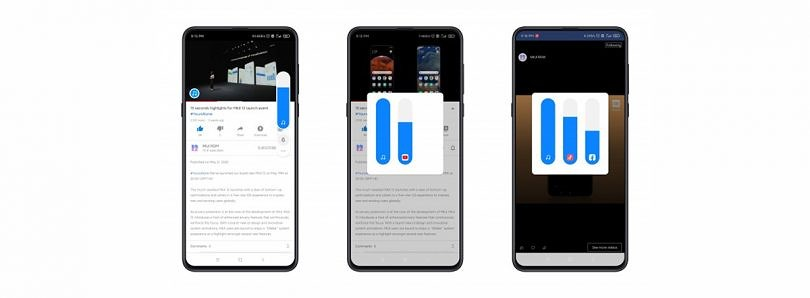 MIUI 12 adds a Sound Assistant for controlling media volume from multiple apps