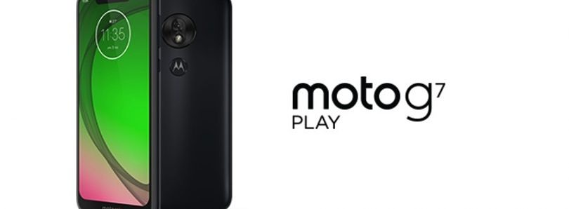 Motorola starts rolling out the Android 10 stable update for the Moto G7 Play