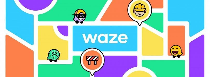 Waze reveals a new logo, bright new colors, and icons