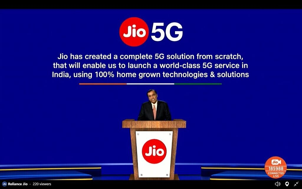 Reliance Jio 5G Made in India