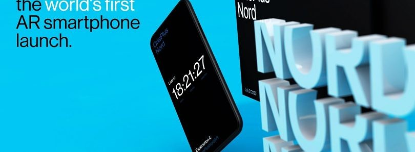 OnePlus Nord will launch on July 21 through an AR launch event