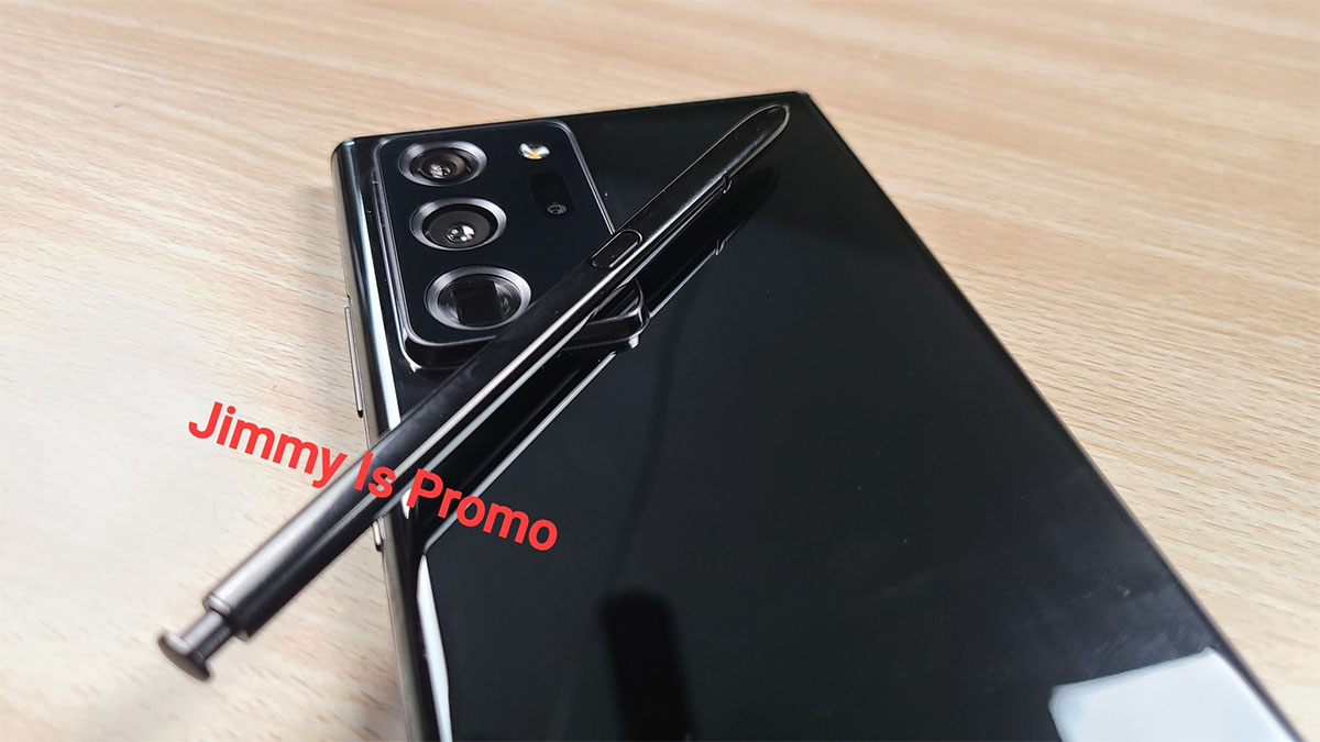 Here S Your First Look At The Samsung Galaxy Note 20 Ultra In The Flesh