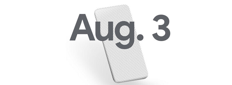 Google teases August 3rd as the Pixel 4a launch date