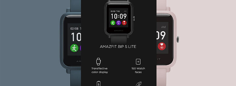 Amazfit Bip S Lite with transflective color display, 30-day battery life launches in India for ₹3,799 ($51)