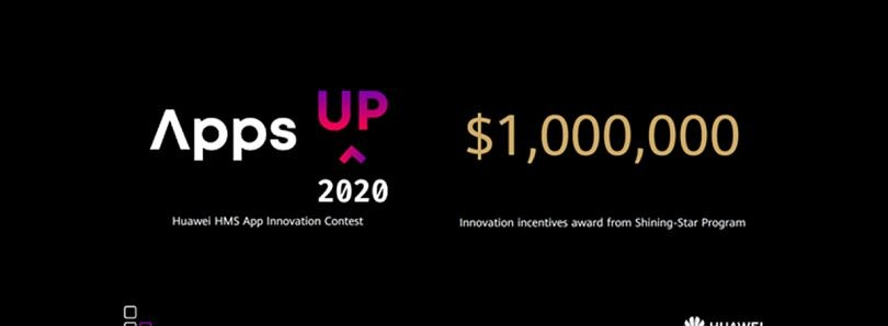 """Huawei's """"Apps UP"""" contest puts up $1 million in prizes for the best apps and games using HMS Core"""