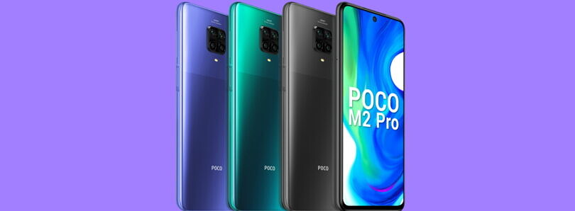 POCO M2 Pro gets an unofficial LineageOS 17.1 and PitchBlack Recovery builds