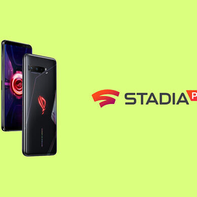 The ASUS ROG Phone 3 comes with 3 months of free Stadia Pro