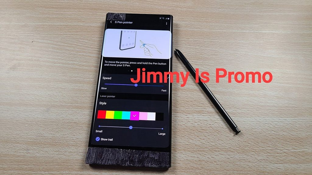 The Samsung Galaxy Note 20 S S Pen Can Reportedly Act As A Pointer