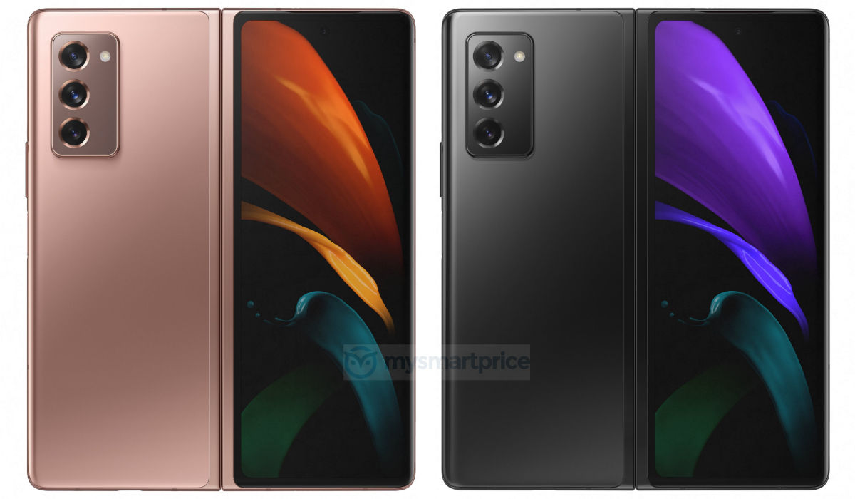 Galaxy Z Fold 2 Leaked Renders Reveal Samsung S Foldable Smartphone