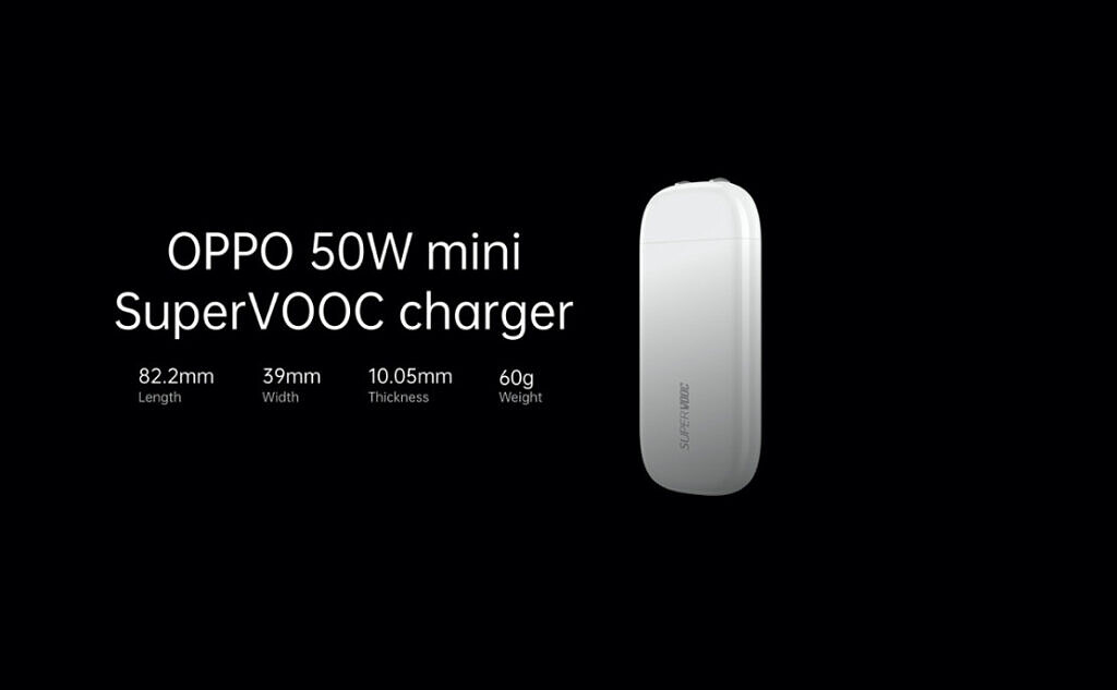 oppo 50w supervooc charger