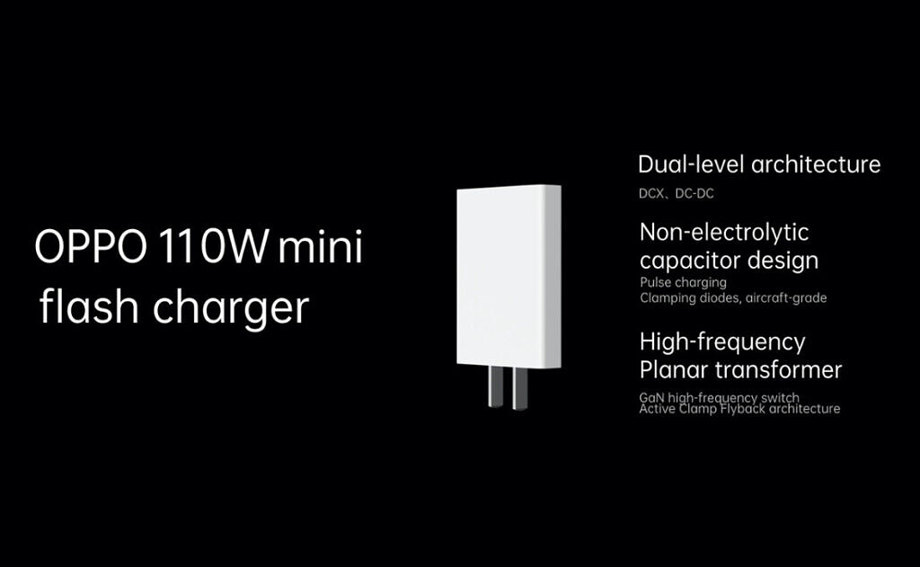 oppo 110w gan charger mini flash charger