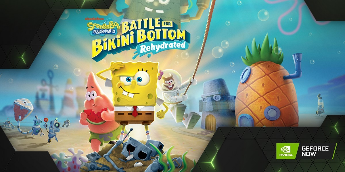 SpongeBob SquarePants: Battle for Bikini Bottom - Rehydrated on NVIDIA GeForce NOW