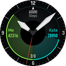 Samsung Galaxy Watch 3 watch face
