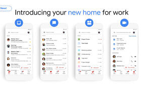 Google rolls out Google Meet, Chat, and Rooms tabs in Gmail for G Suite customers