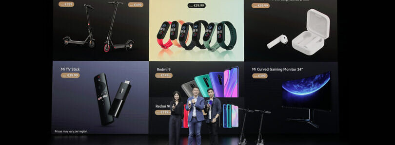 Xiaomi Mi TV Stick, Mi Smart Band 5, and Mi True Wireless Earphones 2 Basic officially announced in Europe