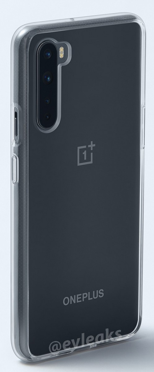 OnePlus Nord leaked render back