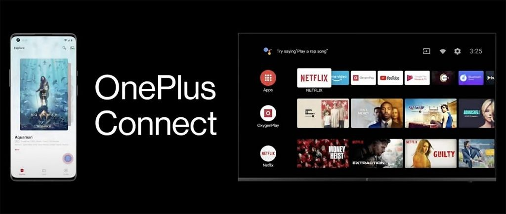 oneplus tv oxygen connect