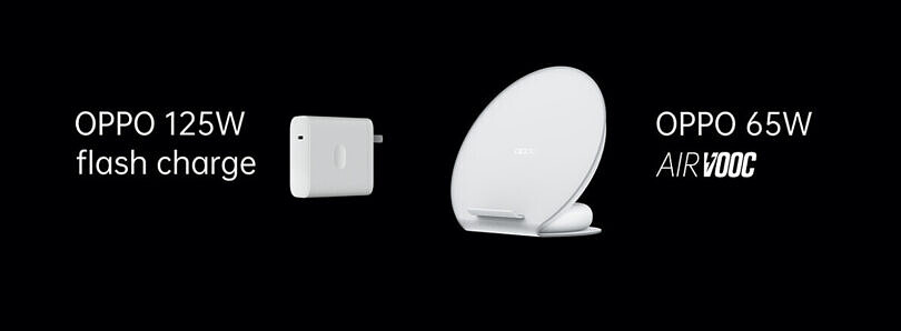 OPPO unveils its 125W wired and 65W wireless fast charging technologies
