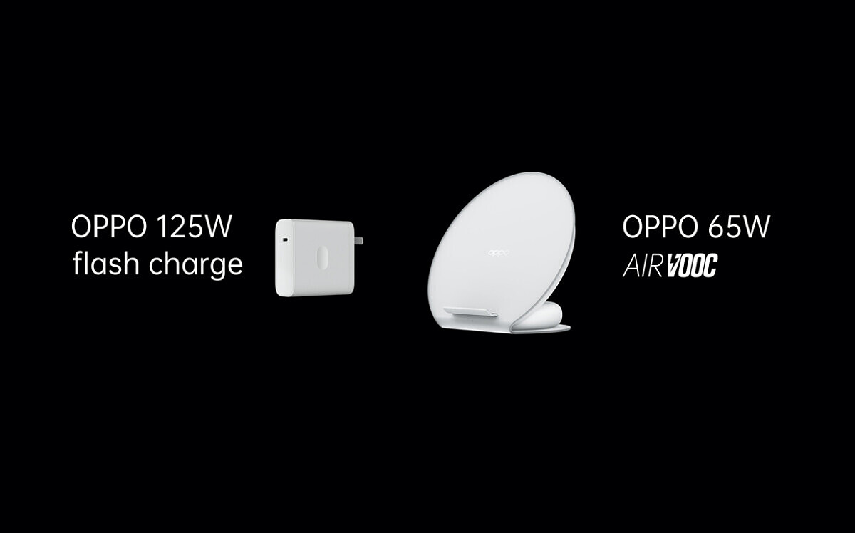 OPPO unveils its 125W wired and 65W wireless fast charging technologies - XDA Developers