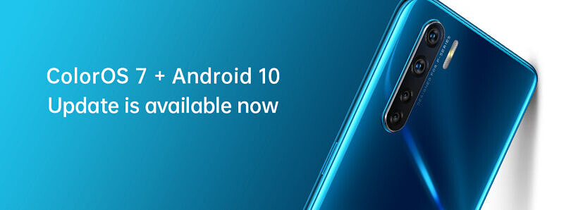 OPPO F15 and OPPO A91 are getting the ColorOS 7 stable update with Android 10