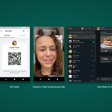 WhatsApp is getting dark mode on desktop, animated stickers, and more