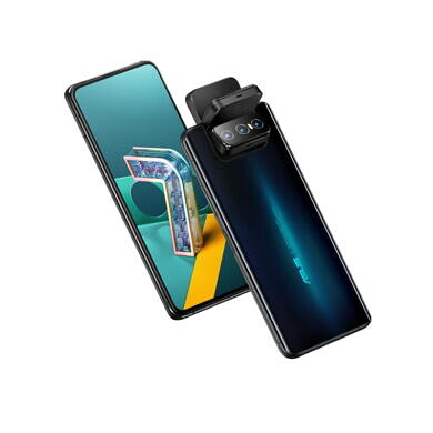 The ASUS ZenFone 7 flagship smartphones tout a motorized Flip Camera and Qualcomm's Snapdragon 865