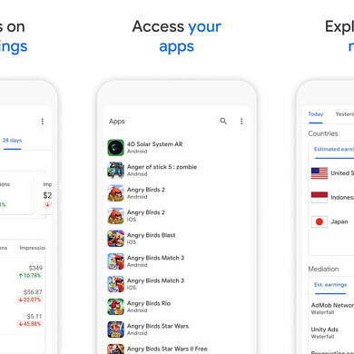 Google releases an AdMob mobile app for Android