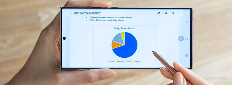 The Galaxy Note 20 Ultra is the first phone with Samsung's new VRR OLED display