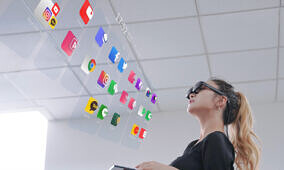 Nreal's new augmented reality smart glasses will be bundled with a Samsung Galaxy Note 20 or LG Velvet on Korea's LG U+