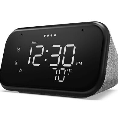 Lenovo Smart Clock Essential is a $49 multipurpose clock with Google Assistant