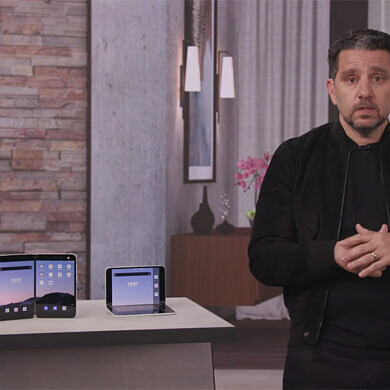 Watch Microsoft's Panos Panay make a case for the Surface Duo