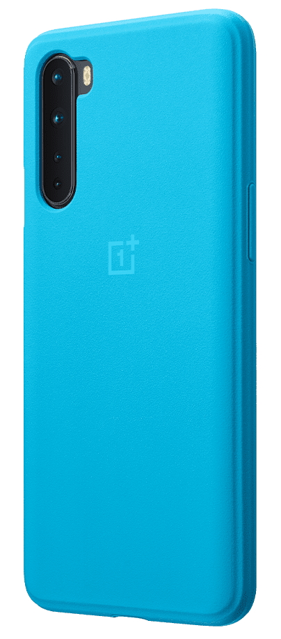 Official OnePlus Nord Blue Bumper Case
