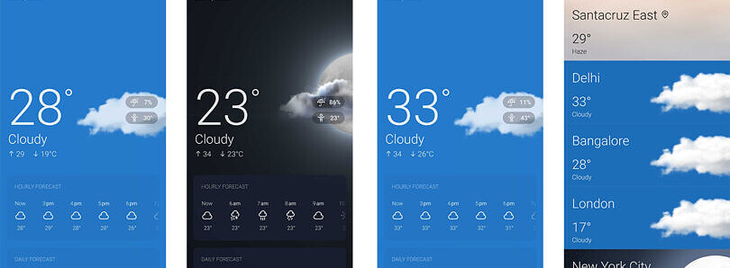Redesigned OnePlus Weather app begins rolling out on Play Store beta channel