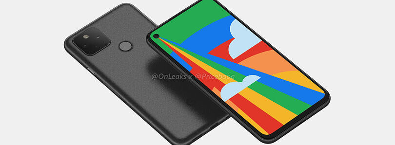 Google Pixel 5 leaked renders show off punch hole display, dual camera setup