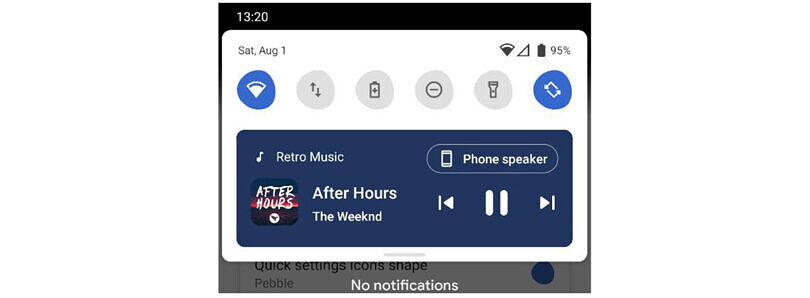 Power Shade brings Android 11's new media controls UI to any Android device