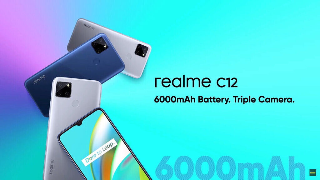 Realme C12 color variants