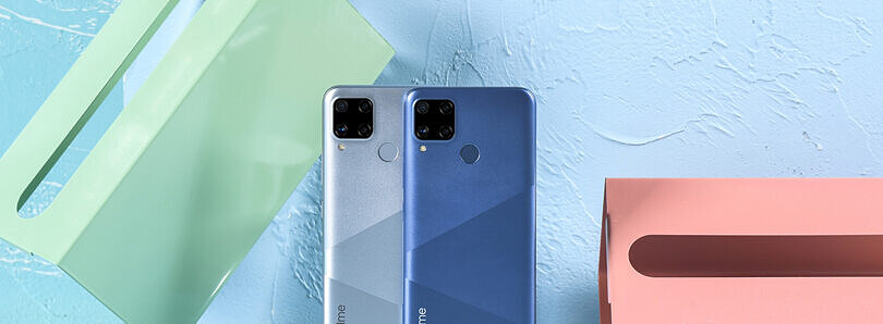 Realme C12 and Realme C15 with MediaTek's Helio G35 SoC, 6000mAh battery launched in India