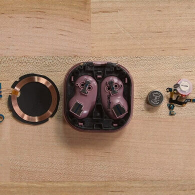 Samsung Galaxy Buds Live teardown showcases easy repairability and Bean references