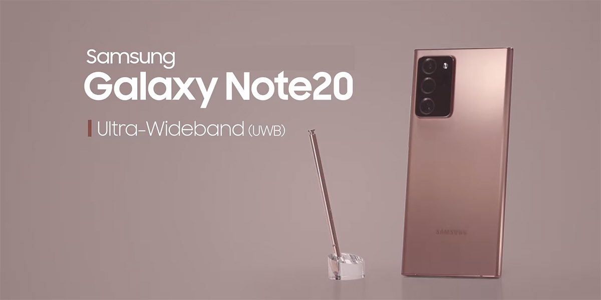 The Samsung Galaxy Note 20 Ultra Features Nxp S Nfc Esim And Uwb Tech