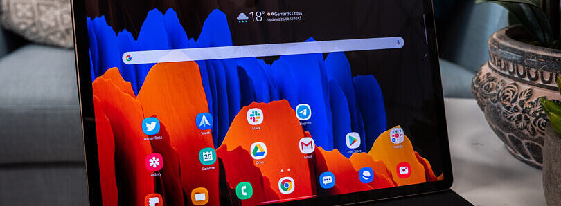 Samsung rolls out the Android 11 update with One UI 3.1 to the Galaxy Tab S7