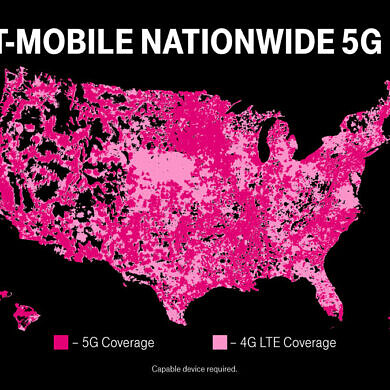 T-Mobile launches the first nationwide standalone (SA) 5G network