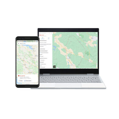 Google beefs up its SOS alerts in Search and Maps with near real-time wildfire data